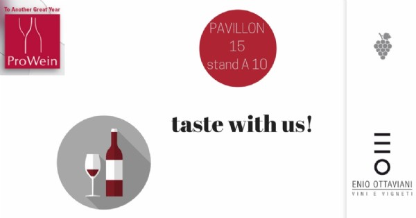 PROWEIN 2018 TASTE WITH US!