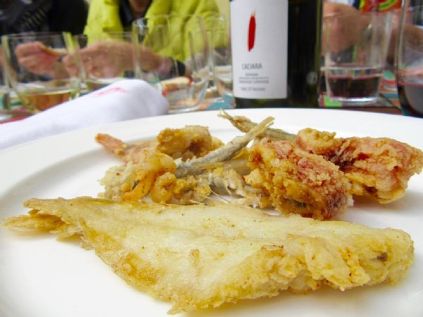 Fish and Sangiovese